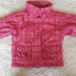 Spyder pink small to tall grow sleeves size 3 coat